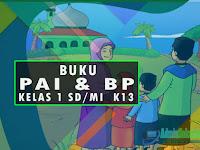 Download Buku PAI & BP Kelas 1 SD K13 Revisi 2017 Lengkap