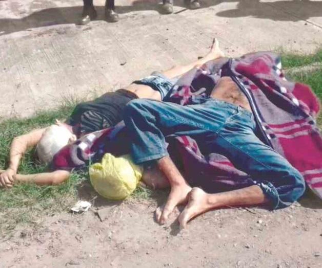 Sicarios mierdas torturan y ejecutan a matrimonio y niña en Ciudad Victoria