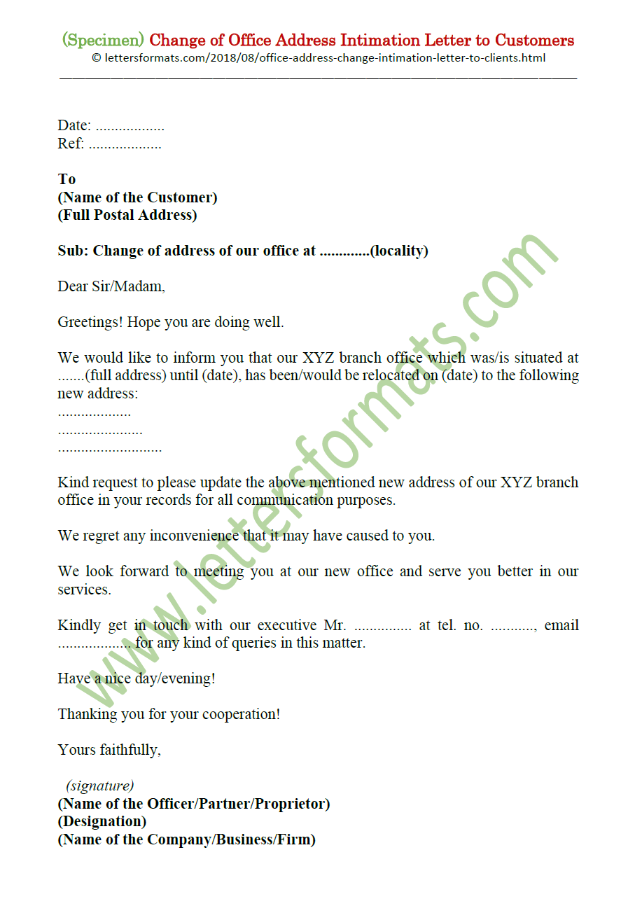 Letter Informing Customers Of Changes from 1.bp.blogspot.com