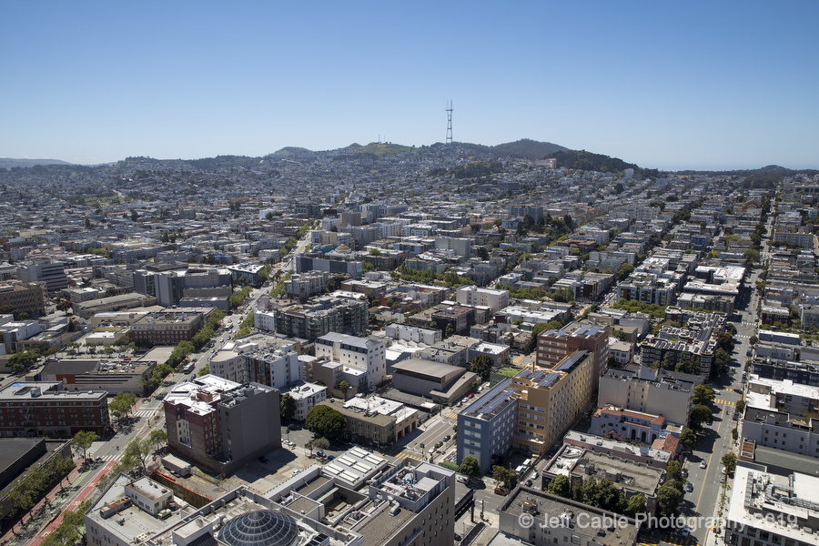 Jeff Cable's Blog: Photographing high above San Francisco (from a