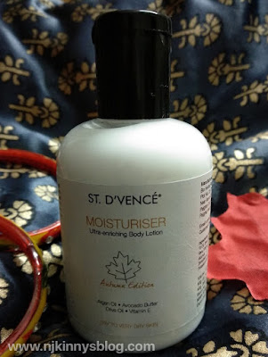 ST. D'VENCÉ Autumn Edition Body Moisturiser Review
