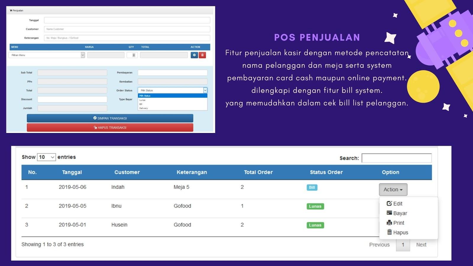 aplikasi restoran online,software program kasir restoran cafe rumah makan,kuliner