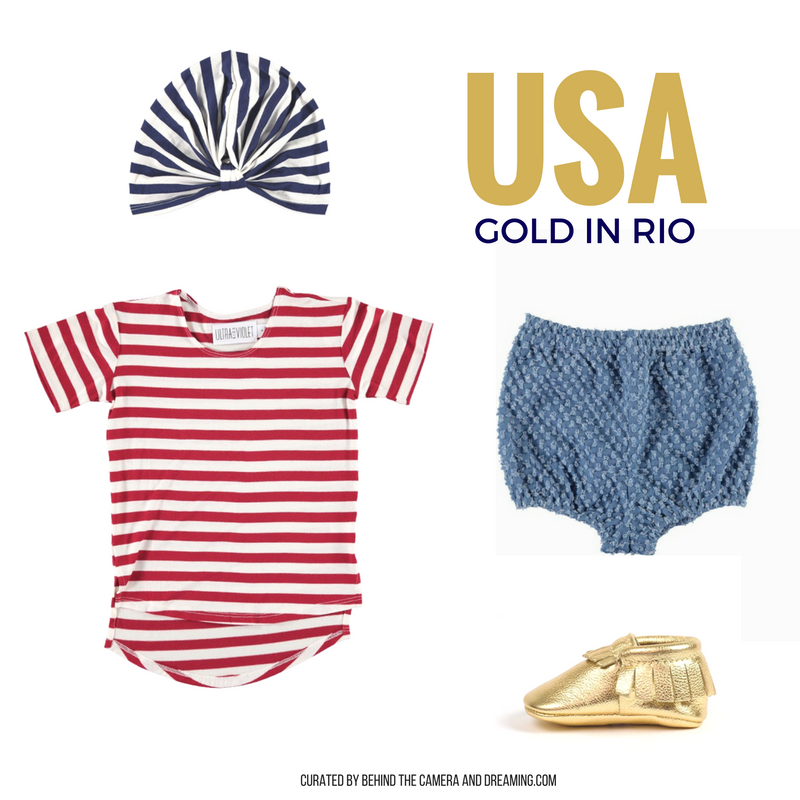 INFANT/TODDLER GIRL OLYMPIC STYLE