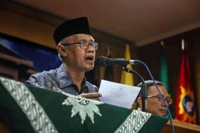 Muhammadiyah : 'Perang Data' Senjata, Mengesankan Ketidakharmosian TNI dan Polhukam