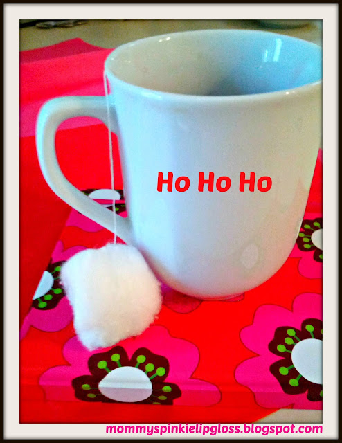 Tea bag tag crafts, Santa Claus crafts, Christmas craft