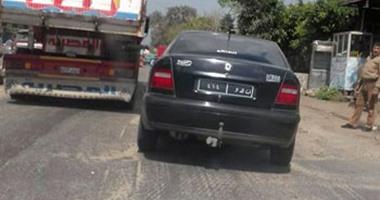 سيارة من غير نمر تمر بالكمين دون أن يسألها أحد بميت غمر