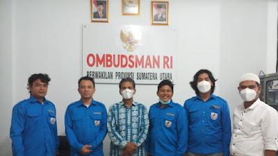 Cium Dugaan Maladministrasi Proses Hibah Aset, KNPI Tebingtinggi Koordinasi dengan Ombudsman