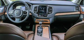 Volvo XC90 2019 Review: Dashboard
