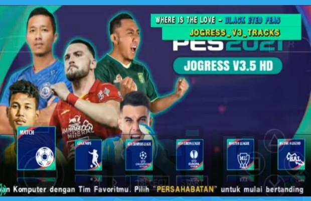 Review PES Jogress V3.5 Iso Ppsspp