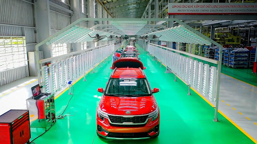 Thaco chính thức xuất xưởng Kia Seltos