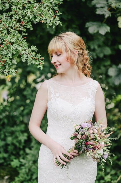 vestido de novia tejido a crochet