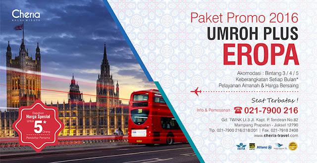 Paket Umroh Plus Eropa Promo