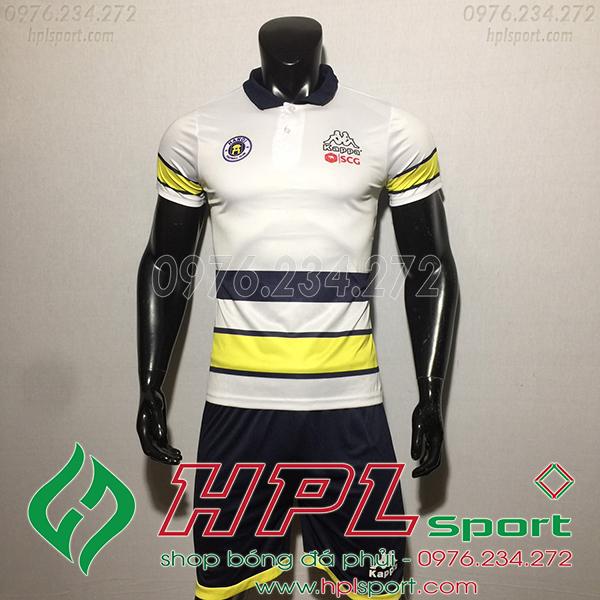 Áo bóng đá câu lạc bộ Hà Nội HLV trắng