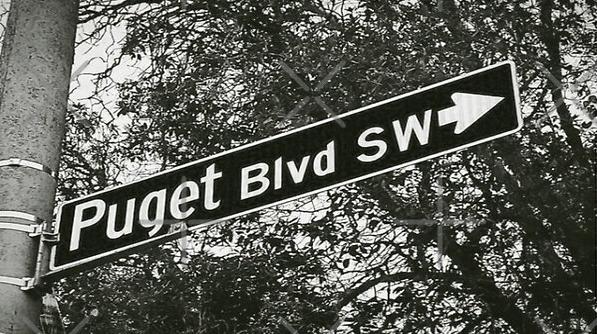 Puget Boulevard, Seattle, Washington by Mistah Wilson