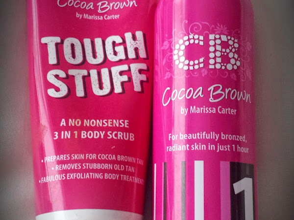 Cocoa Brown Tough Stuff & 1 Hour Tan