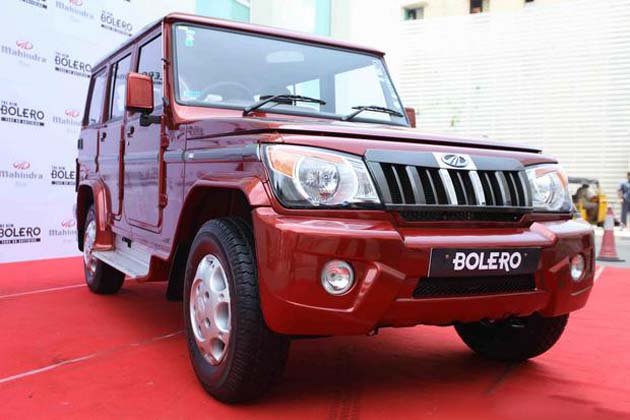 THE NEW MAHINDRA BOLERO 2012
