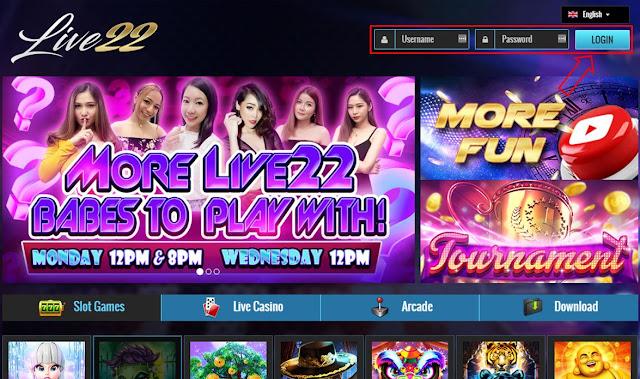 Cara Login Live22 - Agen Live22 - Agen Slot Live22