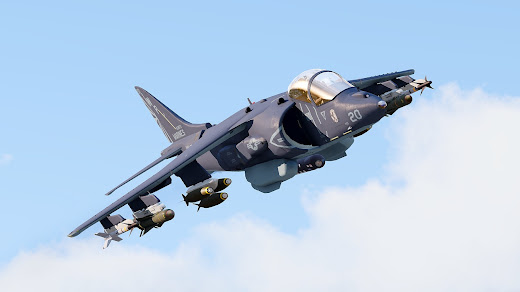 Arma3用のAV-8B Harrier II 攻撃機MOD