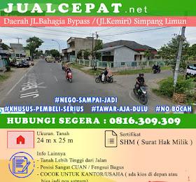 RUMAH DIJUAL: di jual rumah jl.bahagia bypass /jl Kemiri Simpang Limun (amplas) <del>Rp 3.500.000.000,-</del> <price>Rp 3.000.000.000,-</price> <code>MH-HOT20</code>