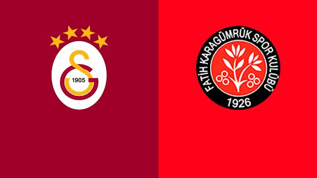 Galatasaray - Fatih Karagümrük Canlı - Live