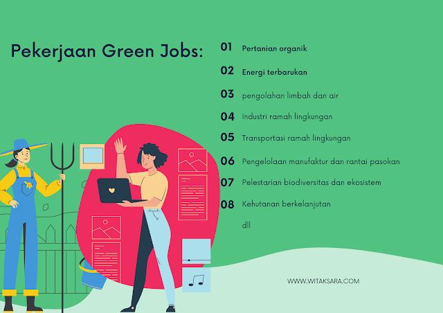 Macam-macam pekerjaan green jobs