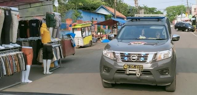 Keliling Pasar, Polisi Imbau Warga Patuhi Protokol Kesehatan Covid-19