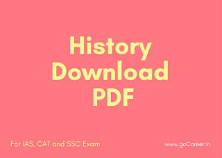 Download History Question Asked in SSC CGL 2016 for Free