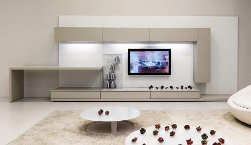 Semua orang niscaya akan merasa bahagia mempunyai ruang menonton TV Rancangan Ruang TV Minimalis Modern