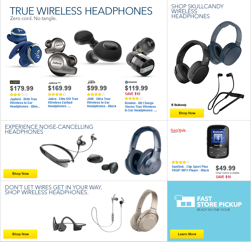 Best Buy Weekly Ad April 1 - 7, 2018 Save $100 on the
