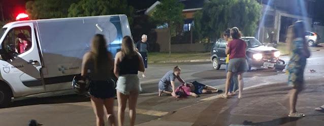 Jovem morre em acidente de moto na cidade de Roncador