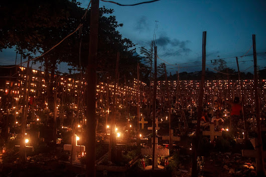 Pardo Catholic Cemetery: A Thousand and One Lights on All Souls' Day
