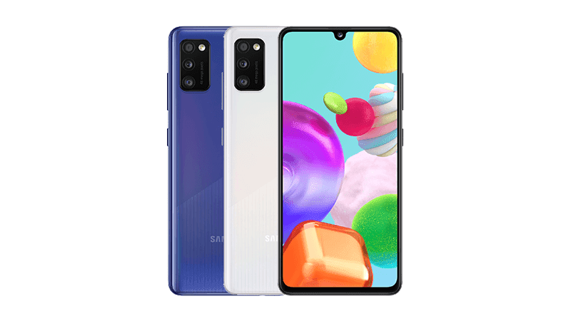 Samsung announces a Galaxy A41 with slightly different design