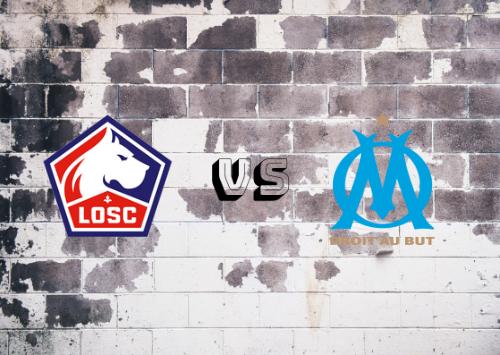 Lille vs Olympique de Marsella  Resumen