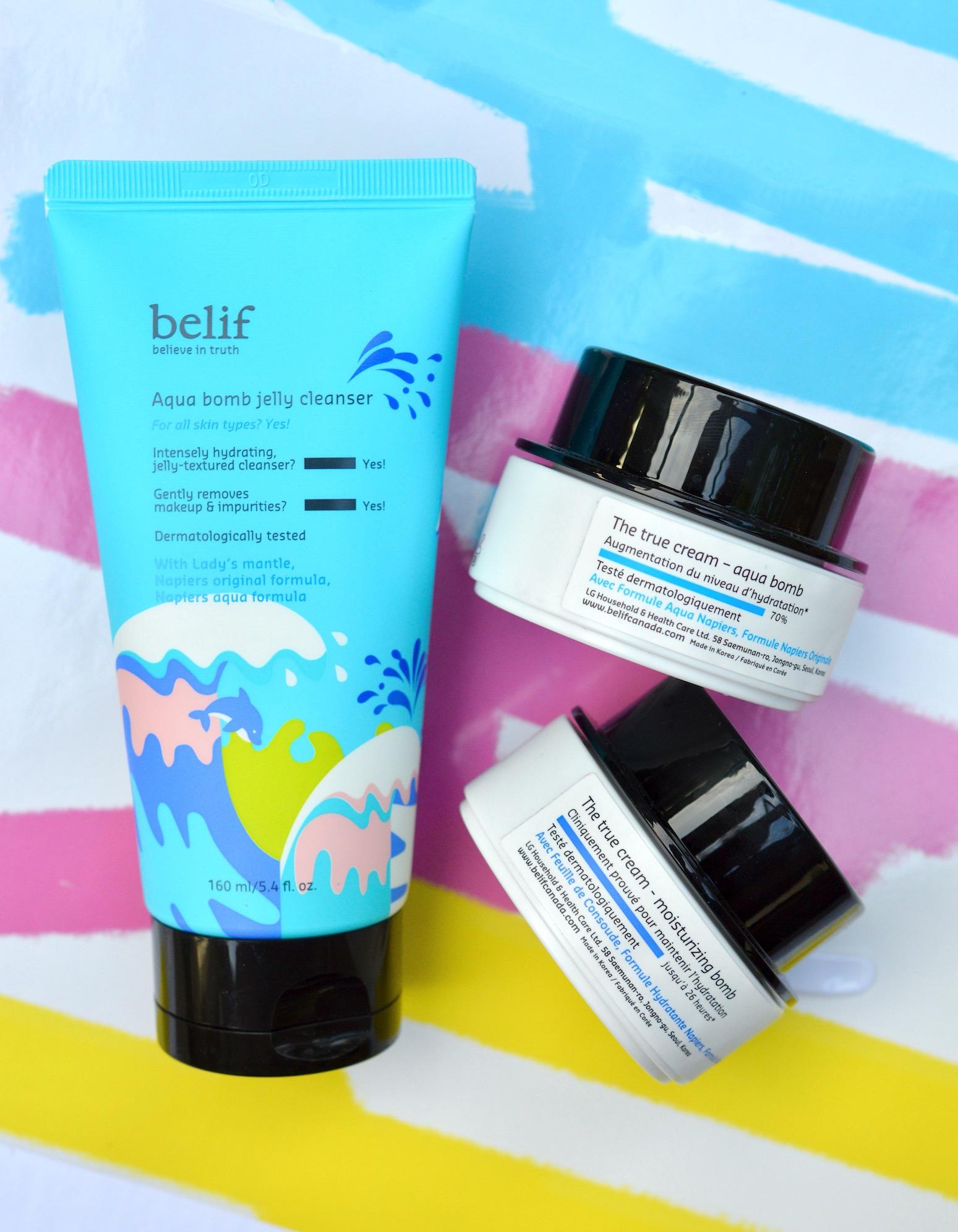 belif skincare review