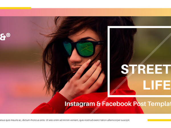Download Street Life Instagram & Facebook Templates Free