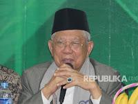 KH Ma'ruf Amin Instruksikan Warga NU tak Ikut Aksi 112, Ini Alasannya