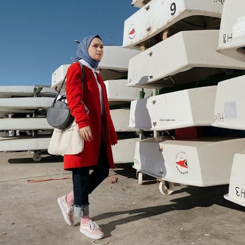 أنماط الحجاب العصرية لطلاب الجامعة
