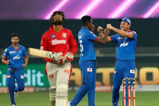 रोमांचक रहा। दिल्ली कैपिटल्स की टीम ने किंग्स इलेवन पंजाब को सुपर ओवर में मात देकर टूर्नामेंट में जीत से आगाज किया।