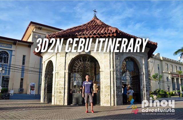 SAMPLE CEBU DIY ITINERARY 3 DAYS