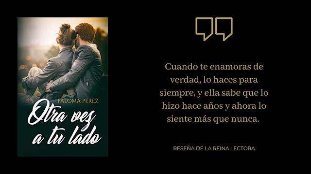 Libro Otra vez a tu lado Paloma Pérez
