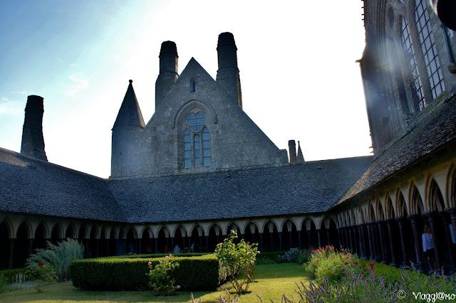 Interno del Chiostro dell'Abbazia di Saint Michel