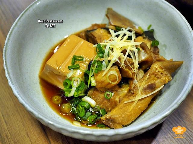 Tansen Izakaya 炭鲜居酒屋 Menu - Hamachi 4-Course OMAKASE Meal Menu - Nitsuke  Style