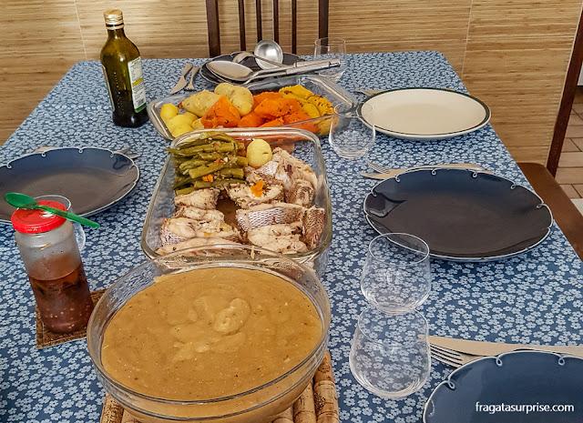 escaldado de peixe, culinária da Bahia