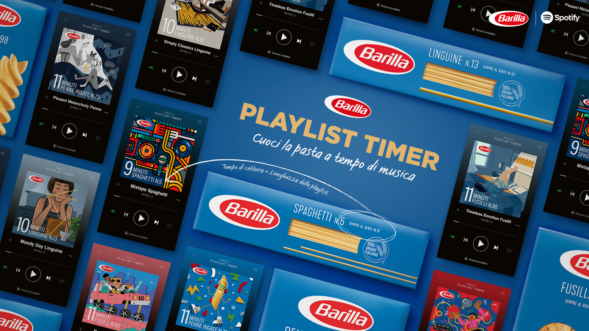 Kohls Radio 2021 Christmas Playlist Barilla Launches Playlist Timer On Spotify To Perfectly Cook Pasta In Time To Music Adstasher
