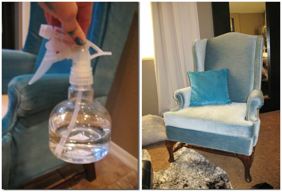 Tutorial c mo pintar el tapizado de un sill n bricolaje for Se puede pintar encima del barniz
