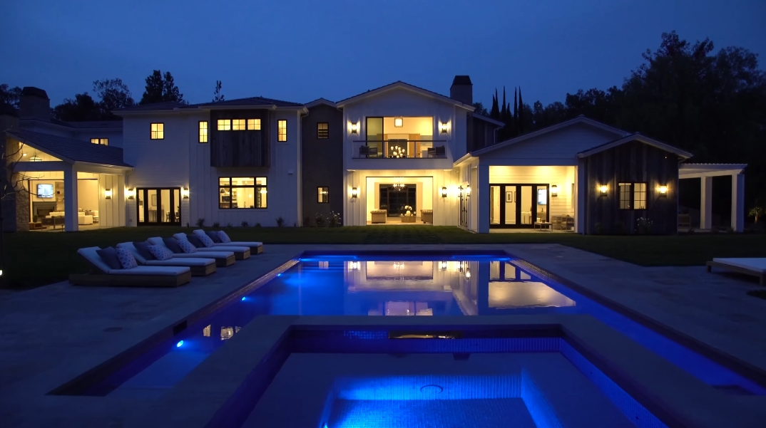 63 Photos vs. Tour 5800 Jed Smith Rd, Hidden Hills, CA Ultra Luxury Modern Rustic Mansion