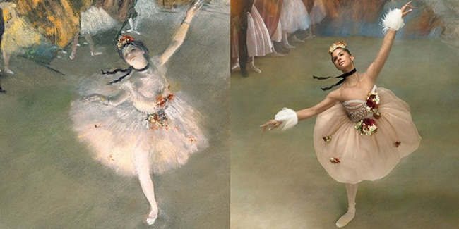 Dance of Art: Misty Copeland & Degas