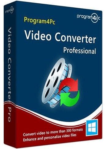 Program4Pc Video Converter Pro 10.6 poster box cover