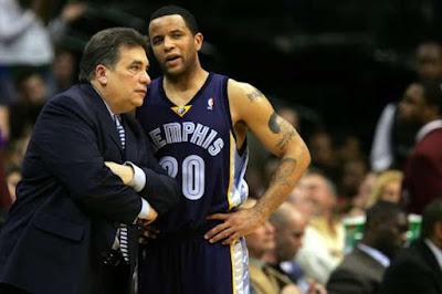 Tony Barone memphis grizzlies head coach list