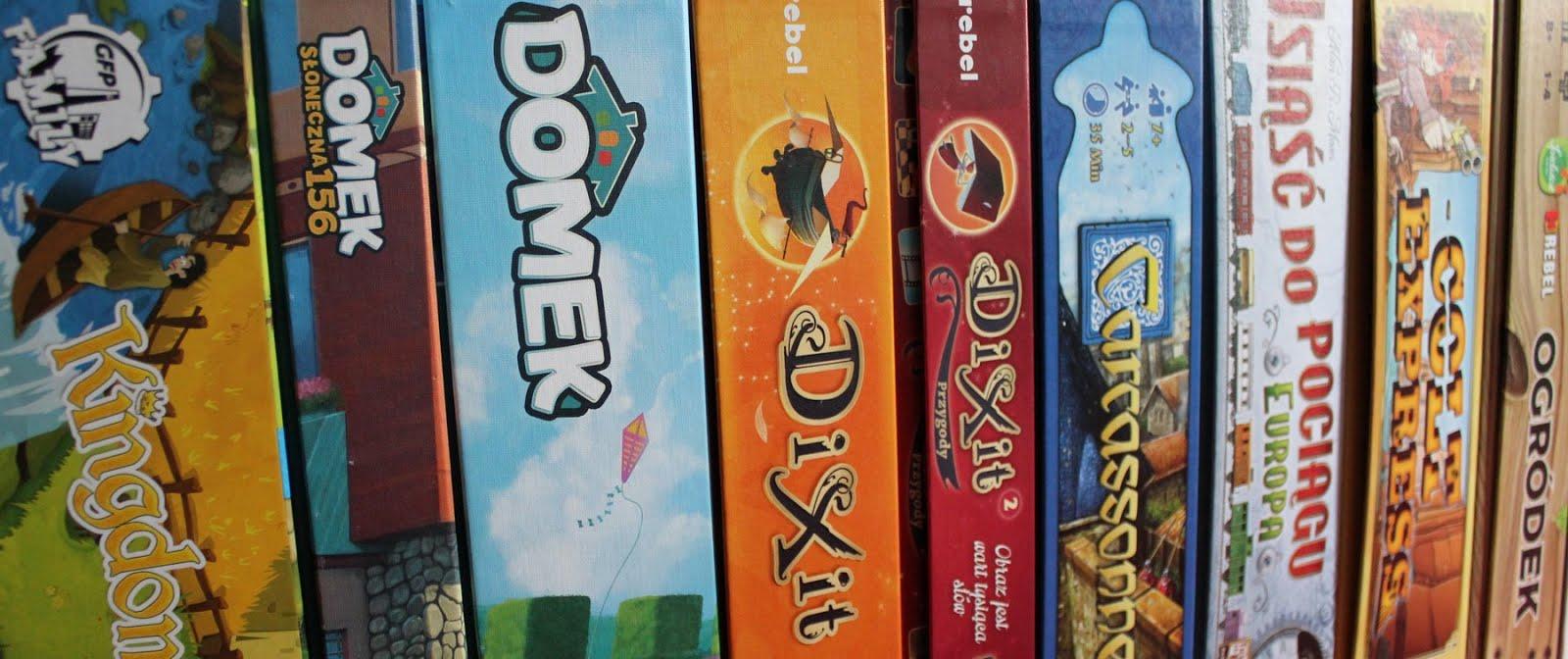 Kolekcja gier planszowych - encyklopedia planszówek